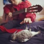 Пингвин свири на китара