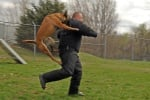 Куче лови престъпник