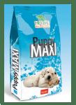 Puppy MAXI - за подрастващи кучета от едри и гигантски породи с пиле, патица, риба тон и 5 вида билки, 12 кг.
