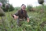 Раиса в градината си