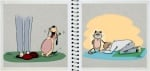 Разликите между кучето и котката в забавни илюстрации