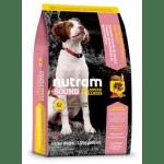 S2 Nutram Sound Balanced Wellness Natural Puppy - За подрастващи кученца от СРЕДНИ ПОРОДИ от 6 до 52 седмици, 13.6 кг.
