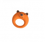 лисица Играчка за куче Camon силиконов пръстен, 11см.