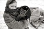 Семейство оцелява по време на войната само благодарение на котка, която го изхранва