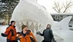Скулптура от сняг