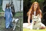 """Звездата от """"Игра на тронове"""" Софи Търнър осиновява кучето, с което играе във филма"""