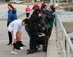 Спасяване на кученце от водата