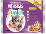 Whiskas Pouch Junior - Пауч за котенца от 1 до 12 месеца, мултиопаковка, 4 х 100 гр.