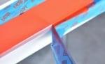 Залепяне на хартиено тиксо при прецизно боядисване