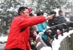 Замеряне със снежни топки